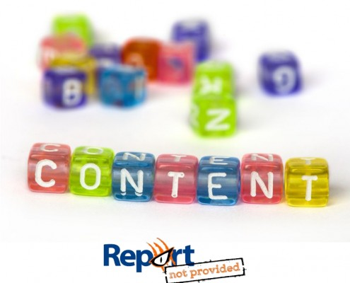Content Marketing, Report not provided, SEO, Inbound marketing