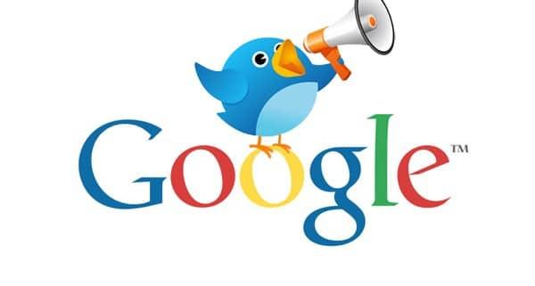 twitter serp google