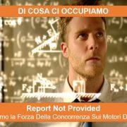 report not provided - analizzare la forza della concorrenza sui motori di ricerca - primialprimo